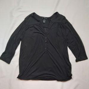 H&M Long Sleeve Top Blouse